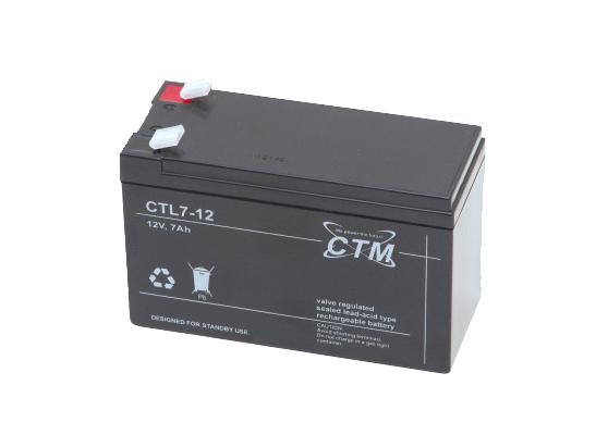 Batteri 12V 7Ah