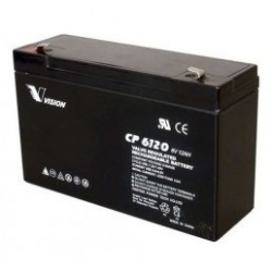 Batteri 6V 12 Ah